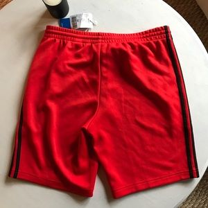 adidas Shorts - Sample Red Adidas Track Shorts 